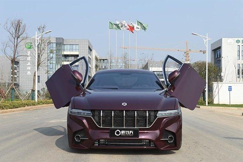 Китайцы разработали автомобиль на водородном топливе с запасом хода 1000 километров