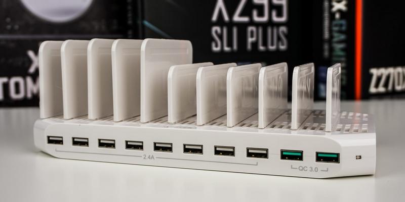 Зарядка Unitek на 10 USB-портов