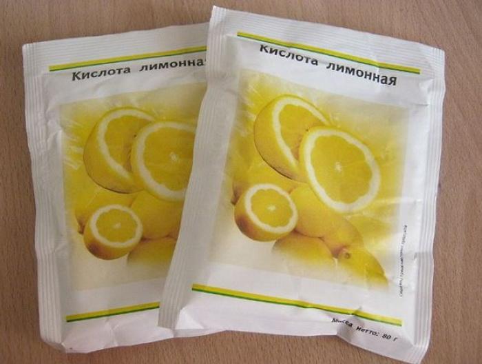 Лимонная кислота и сода - два основных ингредиента.