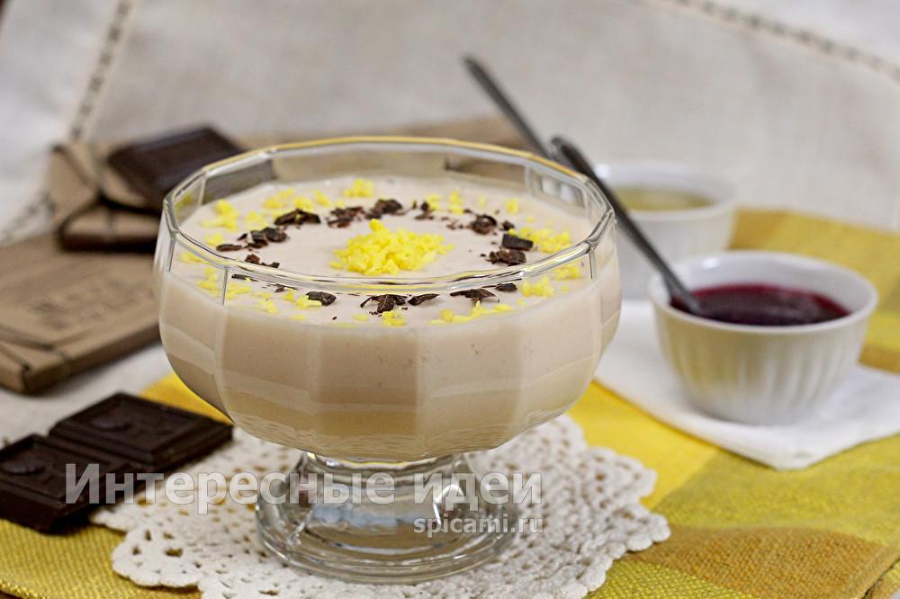 десерт из ряжанки с желатином