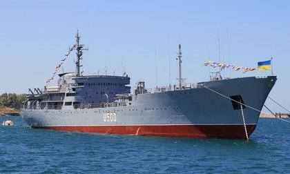 Корабли ВМС Украины вошли в …