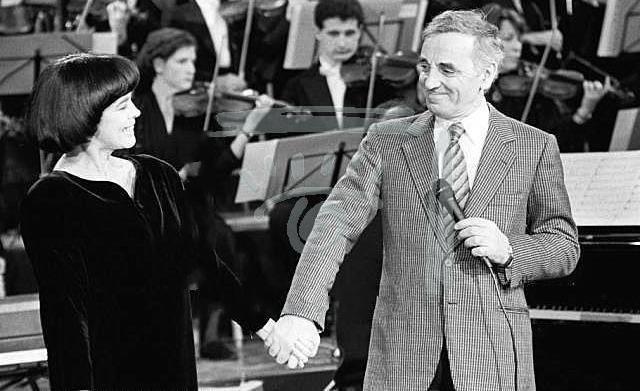 Шарль Азнавур и Мирей Матье - Вечная любовь