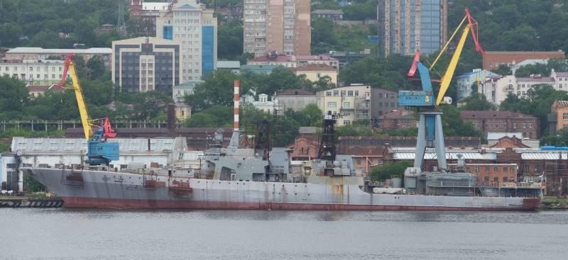 Положение Тихоокеанского флота РФ. Надводный флот. Часть 1