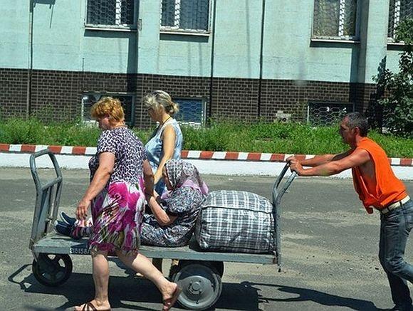Русские не идут — они уходят