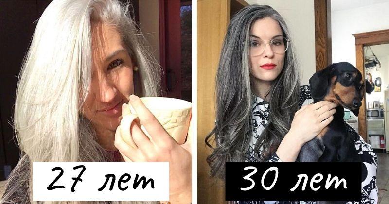 Девушки, которые перестали красить волосы и обрели свой естественный цвет