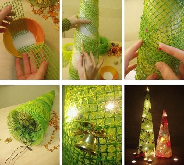Новогодние елки-своими руками мастерство, новогодние елки, елки, своими руками