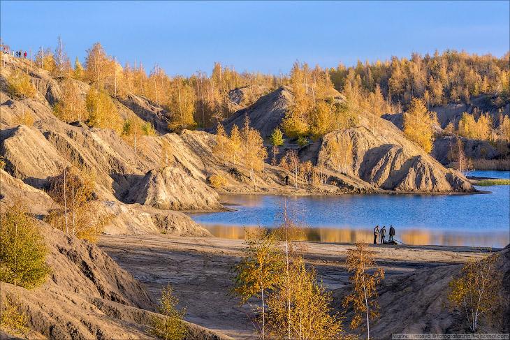 Марсианские пейзажи в России