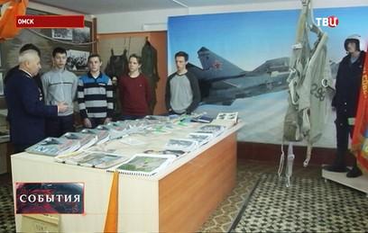 Омские школьники могут бесплатно научиться пилотировать самолет