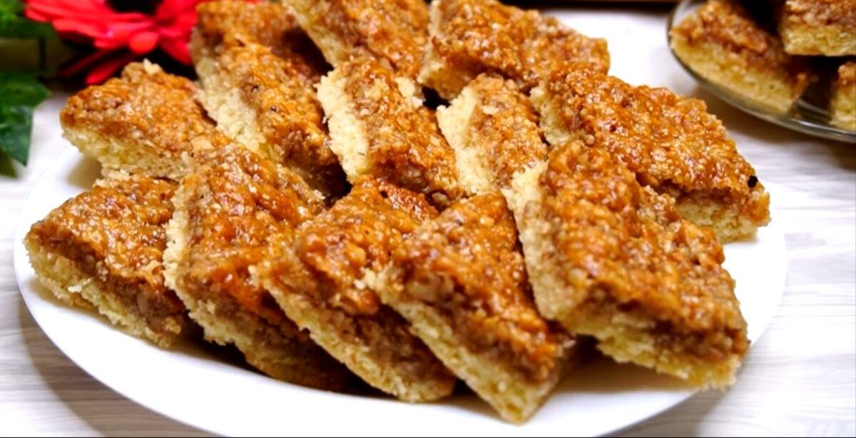 Печенье с орехами: готовьте сразу побольше, иначе, придётся готовить ещё