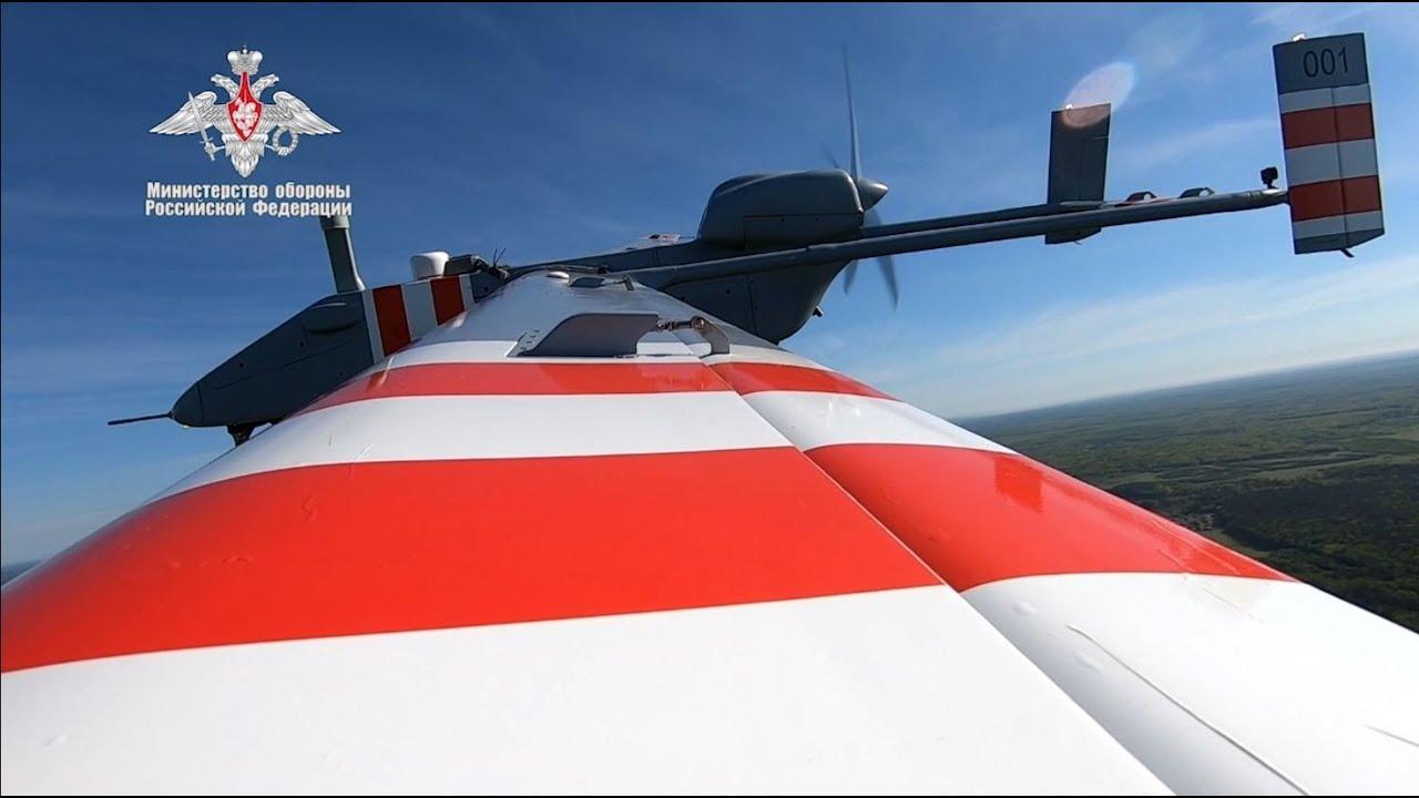 Первый полет беспилотного летательного аппарата «Форпост-Р»
