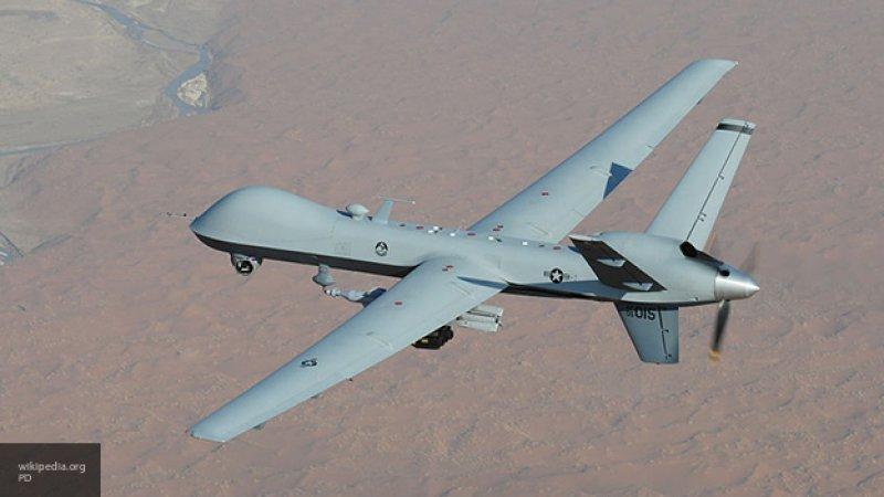 Военный эксперт допустил, что беспилотник США мог быть перехвачен в небе над Сирией