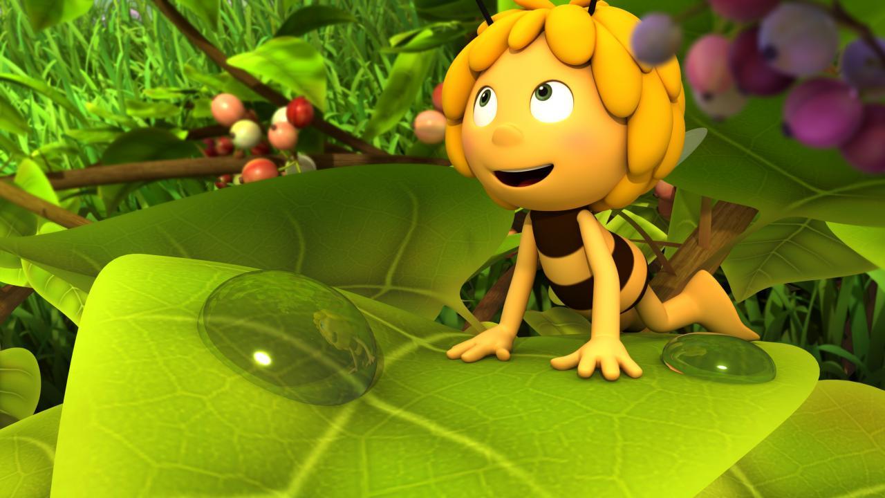 можно приключения пчелки майи с картинками она