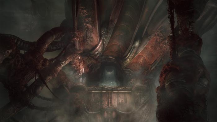 Мрачный хоррор Scorn, основа…