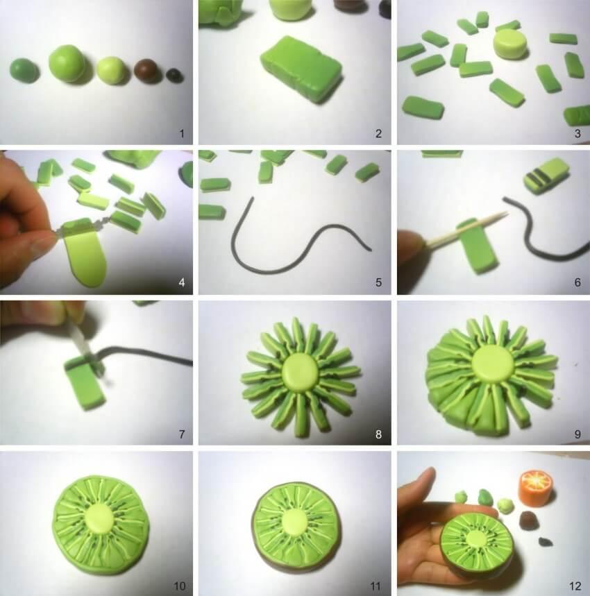 Фрукты и ягоды из полимерной глины: идеи и мастер-классы вдохновляемся,лепка,полимерная глина