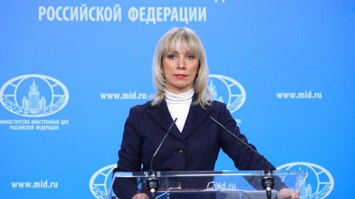 Захарова: Если Британия хоть пальцем тронет RT, британские СМИ вышлют из России