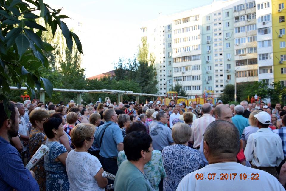 Жители микрорайона Бабаевски…