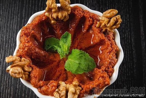 Горячий соус к шашлыку - мухаммара