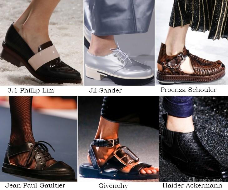 6193ef089 Самая модная обувь весны-2014: плетеная кожа, туфли цвета пудры и скошенный  каблук