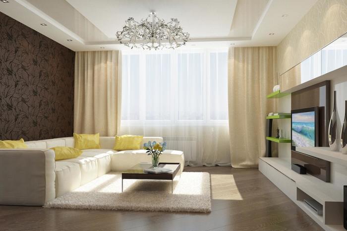Минимализм - универсальный стиль интерьера, который идеально подходит для большого помещения.