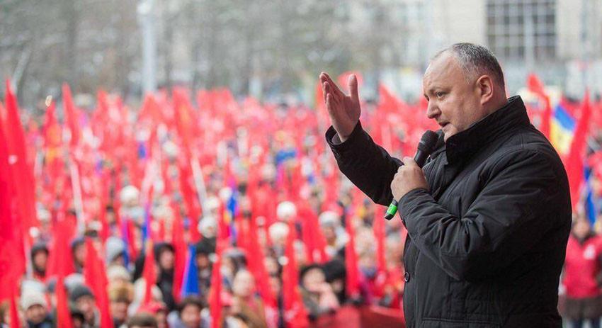 Жители Молдавии потребовали …