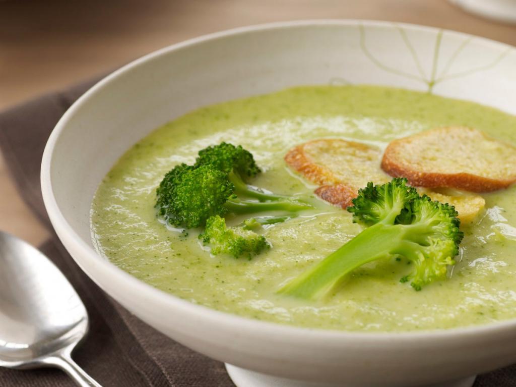 Суп-пюре из брокколи со сливками: рецепт приготовления, калорийность