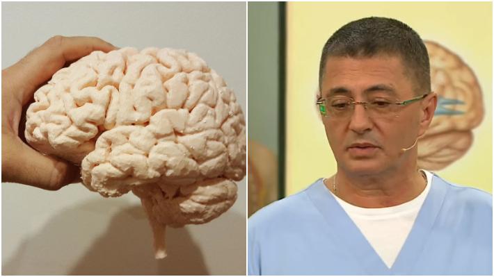 "Мясников дал рекомендации по снижению риска развития опухолей мозга / Коллаж: ФБА ""Экономика сегодня"""