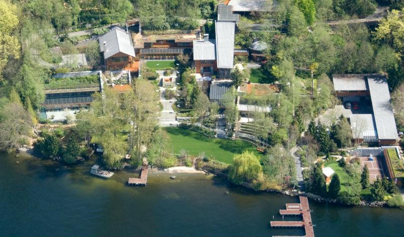 19 сумасшедших фактов о доме Билла Гейтса стоимостью 123 миллиона долларов Билл Гейтс,знаменитости,о недвижимости,технологии