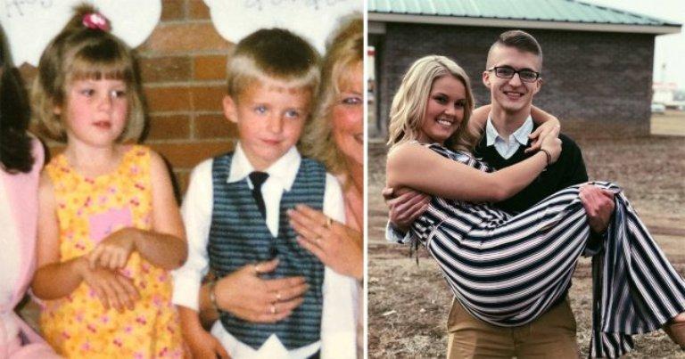 16 лет они ждали, чтобы быть вместе: история любви двух дошкольников