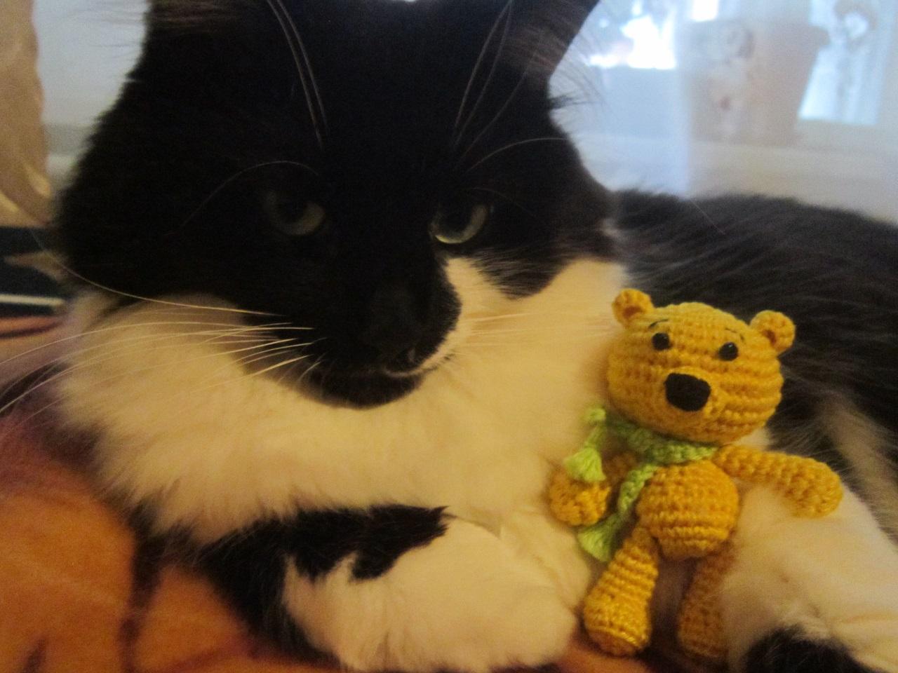 Мишка Нитайчик своими руками. Вязание игрушек для детей