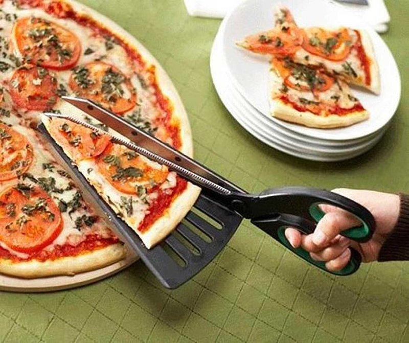 6. Ножницы для пиццы гениальные вещи, дизайн, идеи, интересно, просто и гениально, фото