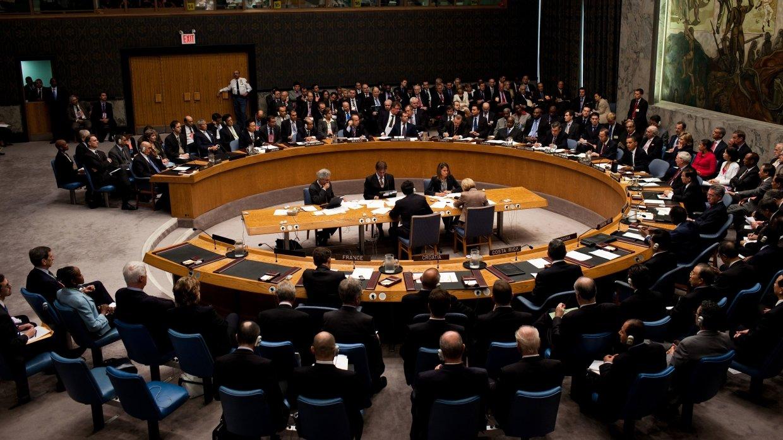 Заседание Совбеза ООН по Сир…