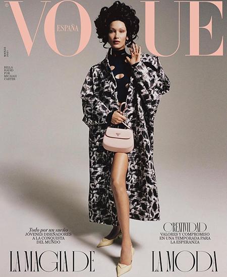 Белла Хадид снялась для обложки испанского Vogue Новости моды