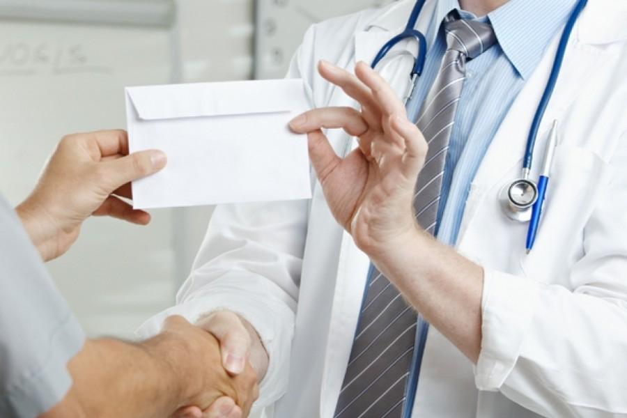 Медицинские взятки легализуют