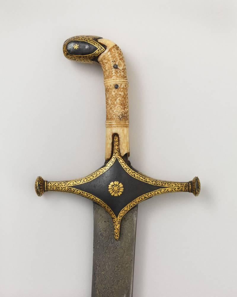 Оружие запорожских казаков: на живописном полотне и в музее история
