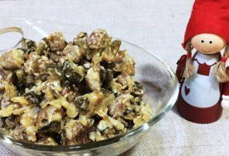 Вкусный и простой салат «Миасс»: такого вы еще не пробовали