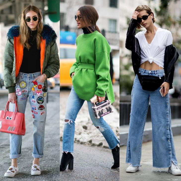 Образы уличной моды сезона весна-лето 2018 года пример уличночного стиля весна-лето 2018