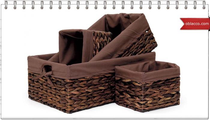 Коробка, плетеная из газет со шнуровкой по углам. МК
