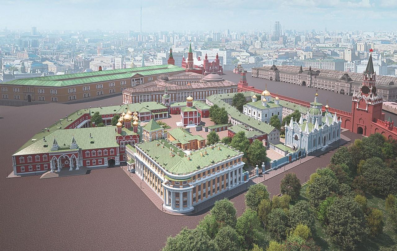 Картинки московского кремля сверху