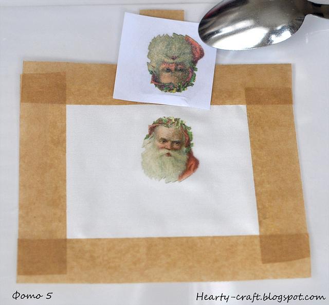 как перевести картинки струйного принтера на ткань выложите