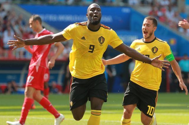 Бельгия разгромила команду Туниса на ЧМ-2018
