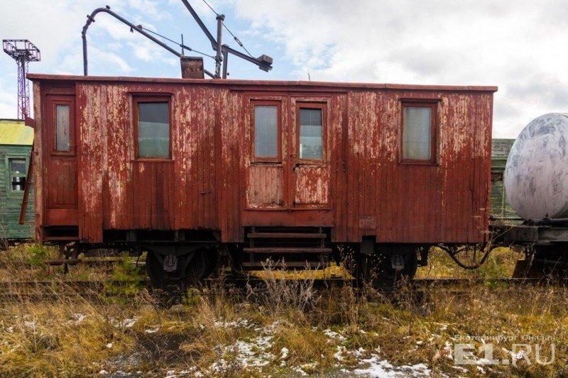Один из старых железнодорожных вагонов. история, поезда, раритет, ржд