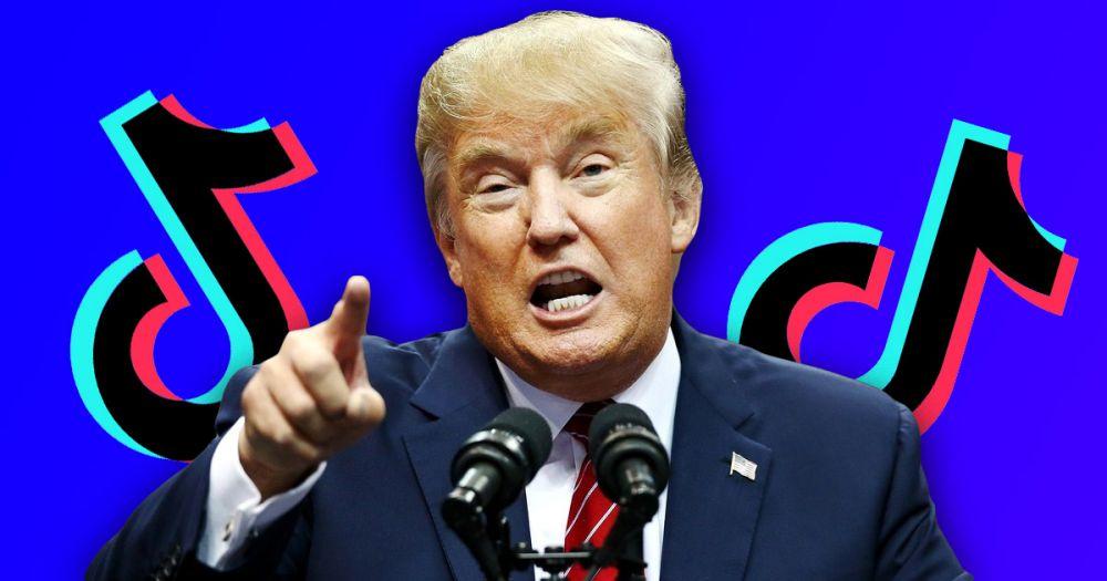 Как Дональд Трамп запрещает TikTok в США