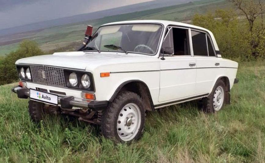 В продаже появился уникальный ВАЗ-2106 с полным приводом от «Нивы»