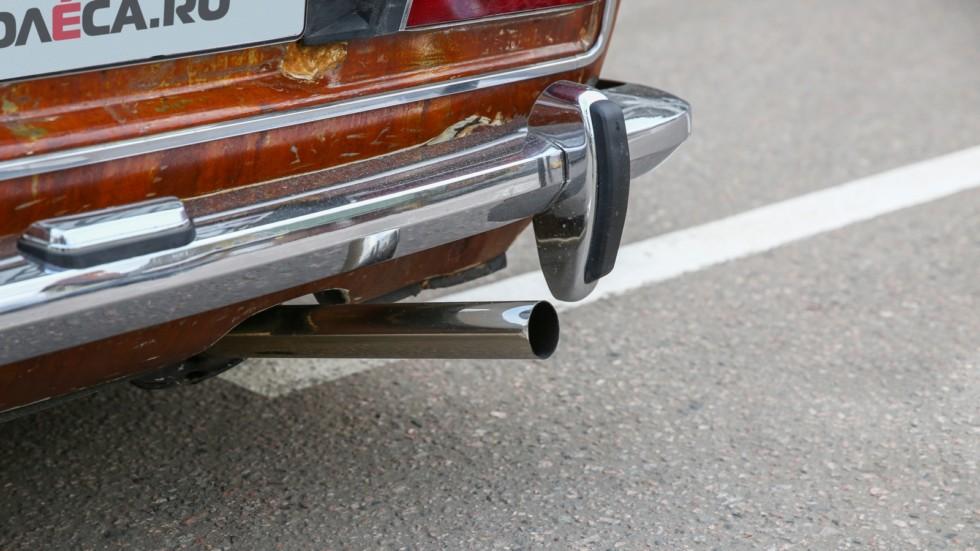 ВАЗ 2106 ratlook выхлопная труба