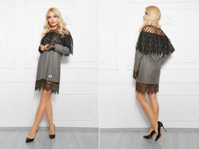15 стильных серых платьев, в которых можно идти хоть в офис, хоть на свидание