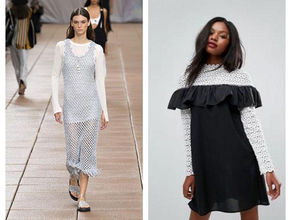 Вещи в технике кроше: модный тренд весна-лето 2019, который восхищает