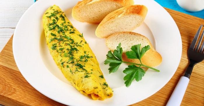 Настоящий французский омлет с сыром покорит любого!