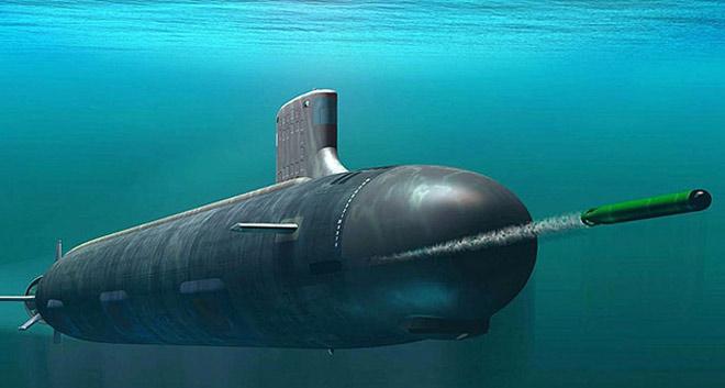 Атомная субмарина в деле: тест торпедной атаки сняли на видео