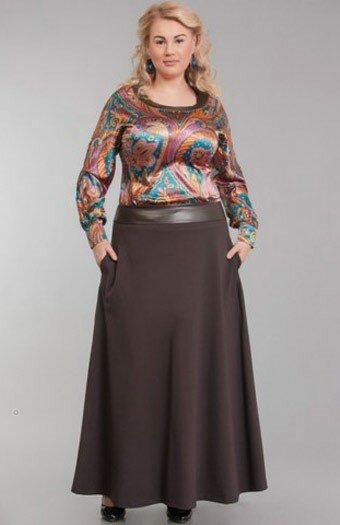 Как полным женщинам правильно носить юбку в пол стоит, ткани, модель, линии, блеском, сшита, пояса, вариант, выглядит, выбор, может, Модель, поэтому, Такая, будет, полностью, поясе, аккуратно, очень, цвета