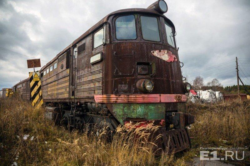 Тепловоз ТЭ3, который выпускался с 1953 по 1973 год. история, поезда, раритет, ржд